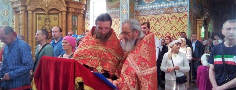 Служение у чудотворной Феодоровской иконы Пресвятой Богородицы